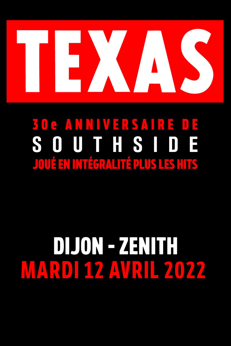 TEXAS   Dijon   mardi, 12 avril 2022