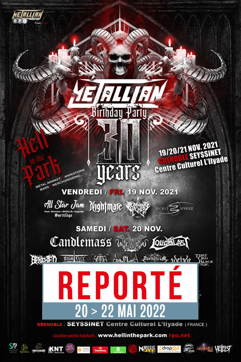 METALLIAN BIRTHDAY PARTY   Seyssinet-Pariset   vendredi, 19 novembre 2021