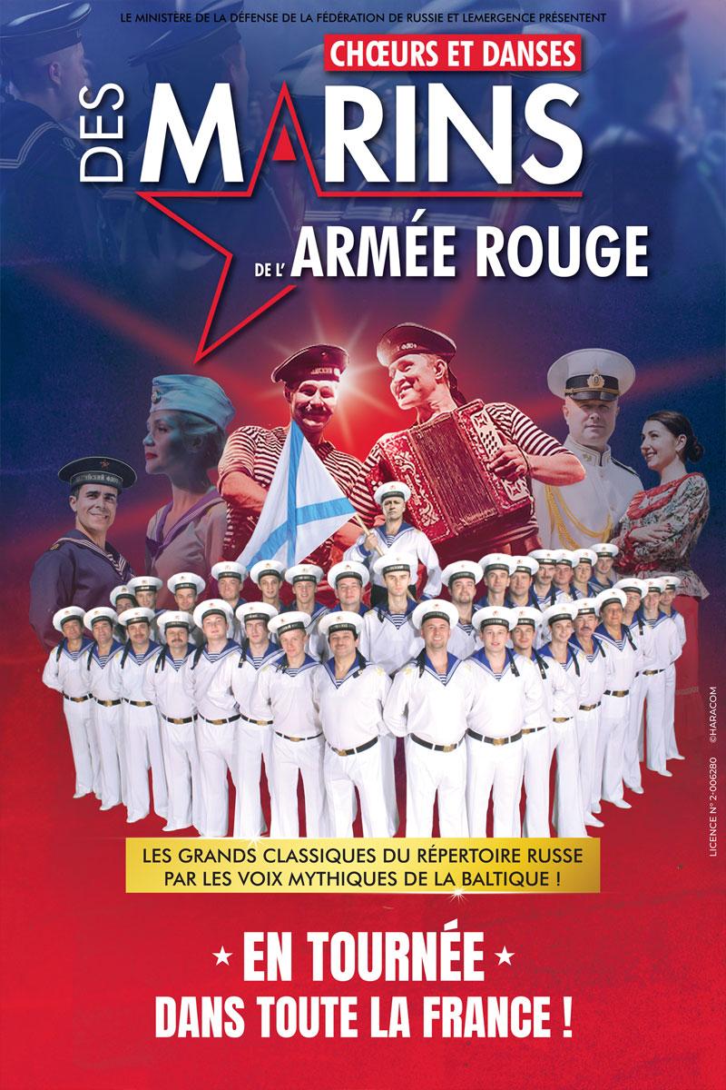 CHŒURS ET DANSES DES MARINS DE L'ARMÉE ROUGE