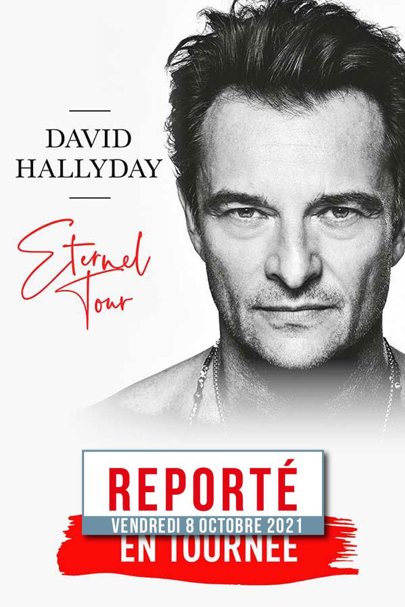 DAVID HALLIDAY report en attente